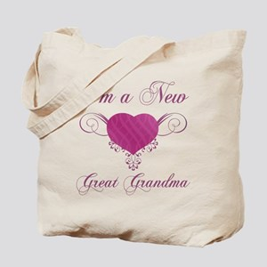 Heart For New Great Grandmas Tote Bag