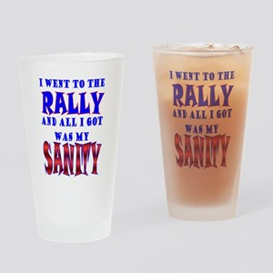 Back from the Sanity Rally Pint Glass