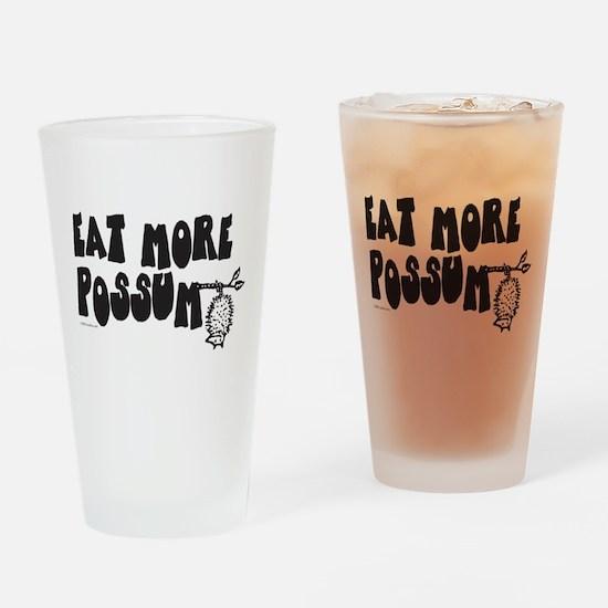 Eat More Possum Pint Glass