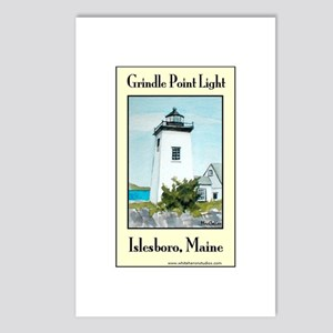 Grindle Point Light Postcards (Package of 8)