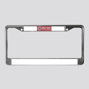 Marco Rubio for President License Plate Frame