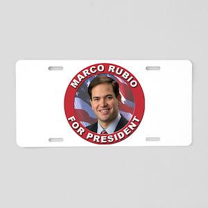 Marco Rubio for President Aluminum License Plate