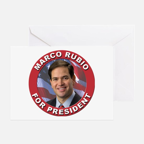 Marco Rubio for President Greeting Card