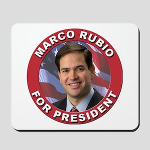 Marco Rubio for President Mousepad