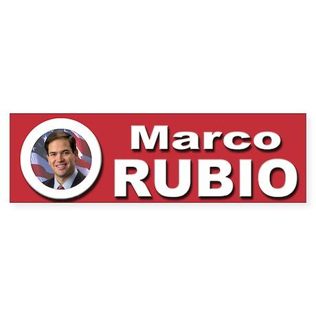 Marco Rubio Sticker (Bumper)