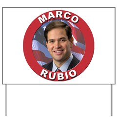 Marco Rubio Yard Sign