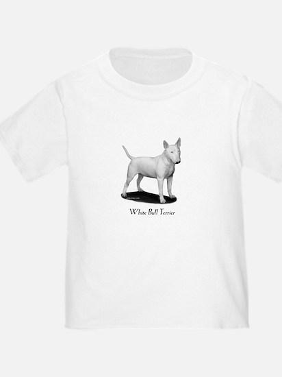 White Bull Terrier T