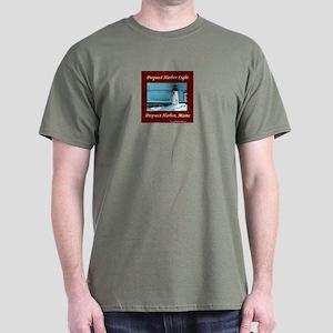 Prospect Harbor light Dark T-Shirt