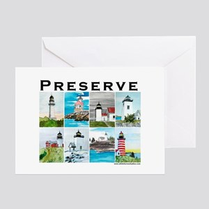 Preserve Lighthouse#2 Greeting Card
