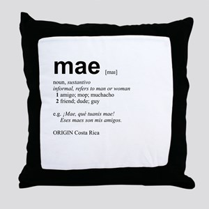 Mae Throw Pillow