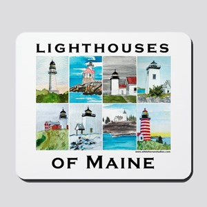 Lighthouses of Maine 2 Mousepad