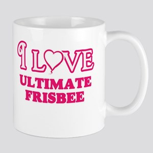 I Love Ultimate Frisbee Mugs