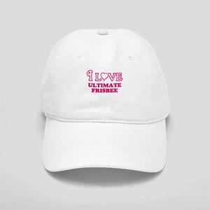 I Love Ultimate Frisbee Cap
