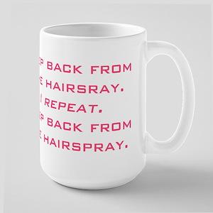 hairspray Large Mug