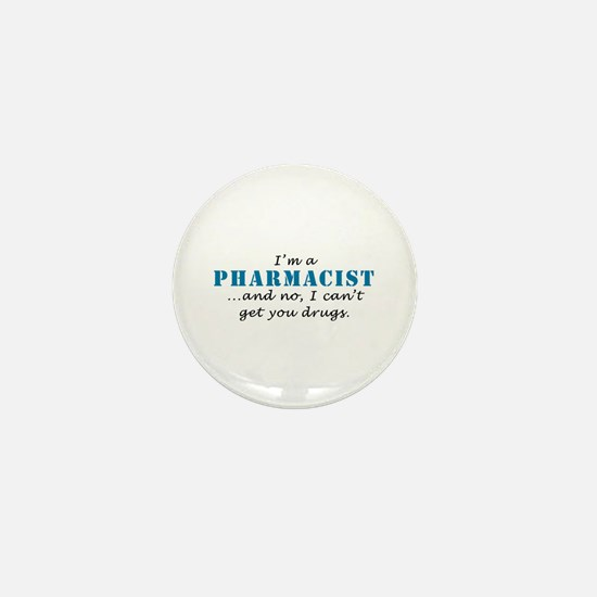 Pharmacist Drugs Mini Button