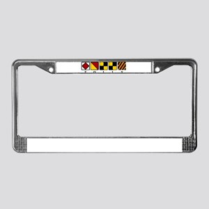 Folly Beach License Plate Frame
