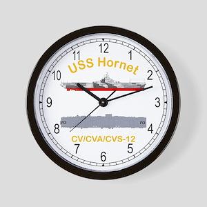 USS Hornet CV-12 CVA-12 Wall Clock