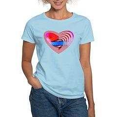 Heart Lines Women's Light T-Shirt