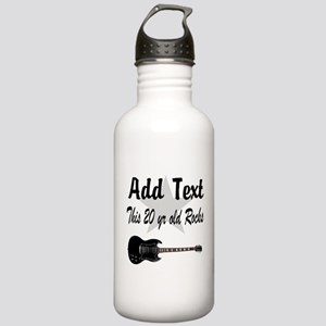 PERSONALIZED 20 YR OLD Stainless Water Bottle 1.0L