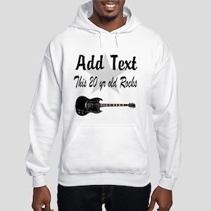 20 YR OLD BIRTHDAY Hooded Sweatshirt
