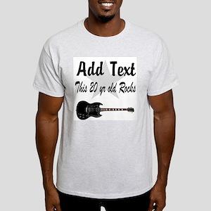 20 YR OLD BIRTHDAY Light T-Shirt