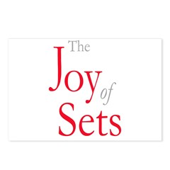 The Joy Sets Postcards (package Of 8)