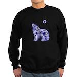 Wolf Black Sweatshirt (dark)