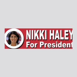Nikki Haley for President 42x14 Wall Peel