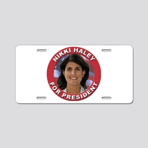 Nikki Haley for President Aluminum License Plate