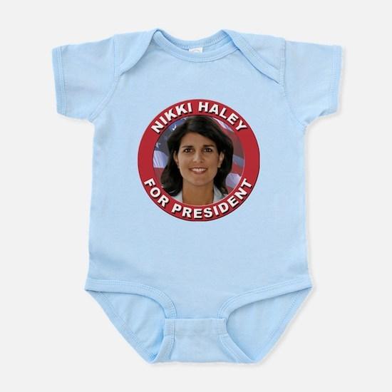 Nikki Haley for President Infant Bodysuit