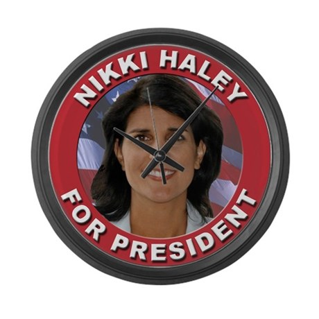 Nikki Haley for President Large Wall Clock