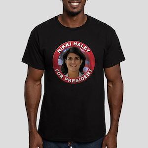 Nikki Haley for President Men's Fitted T-Shirt (da