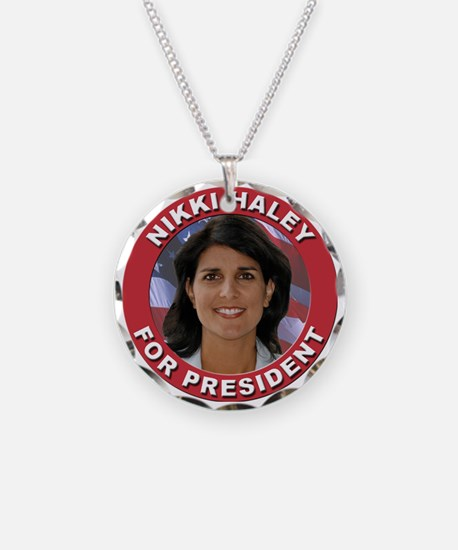 Nikki Haley for President Necklace