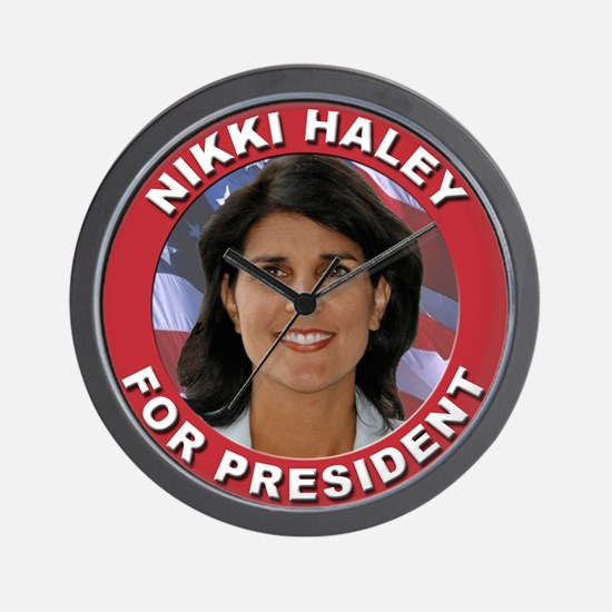 Nikki Haley for President Wall Clock