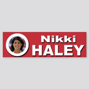 Nikki Haley Sticker (Bumper)