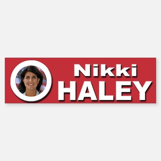 Nikki Haley Sticker (Bumper)