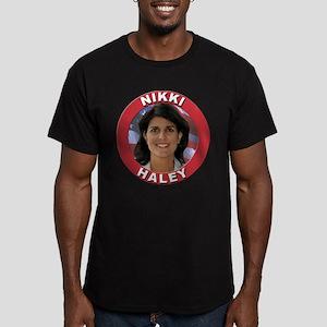 Nikki Haley Men's Fitted T-Shirt (dark)