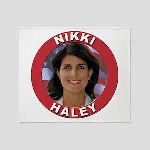 Nikki Haley Throw Blanket