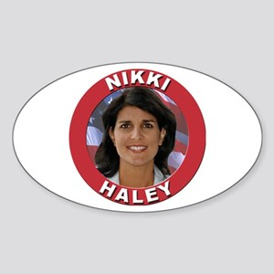 Nikki Haley Sticker (Oval)