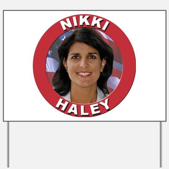 Nikki Haley Yard Sign