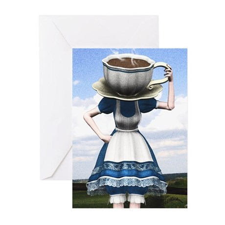 Tea With Alice Greeting Cards (Pk of 20)