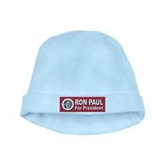 Ron Paul for President baby hat