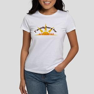 I'm only here for savasana Women's T-Shirt