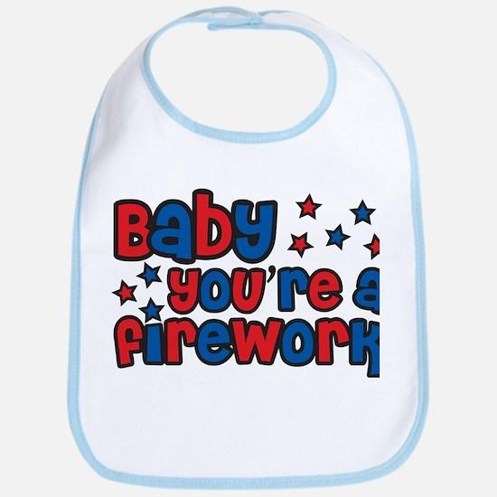 Baby you're a firework Bib