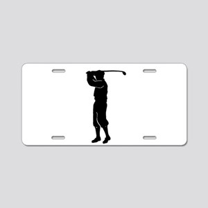 Fore! Aluminum License Plate
