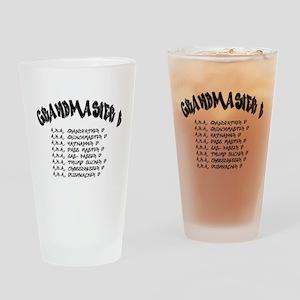 Grandmaster B Pint Glass