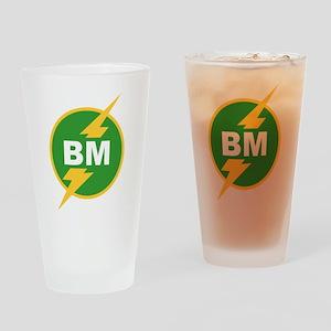 BM Best Man Pint Glass