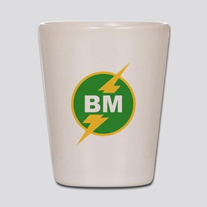BM Best Man Shot Glass