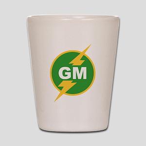 GM Groomsman Shot Glass