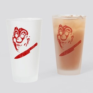 Michael Myers Clown Mask Pint Glass